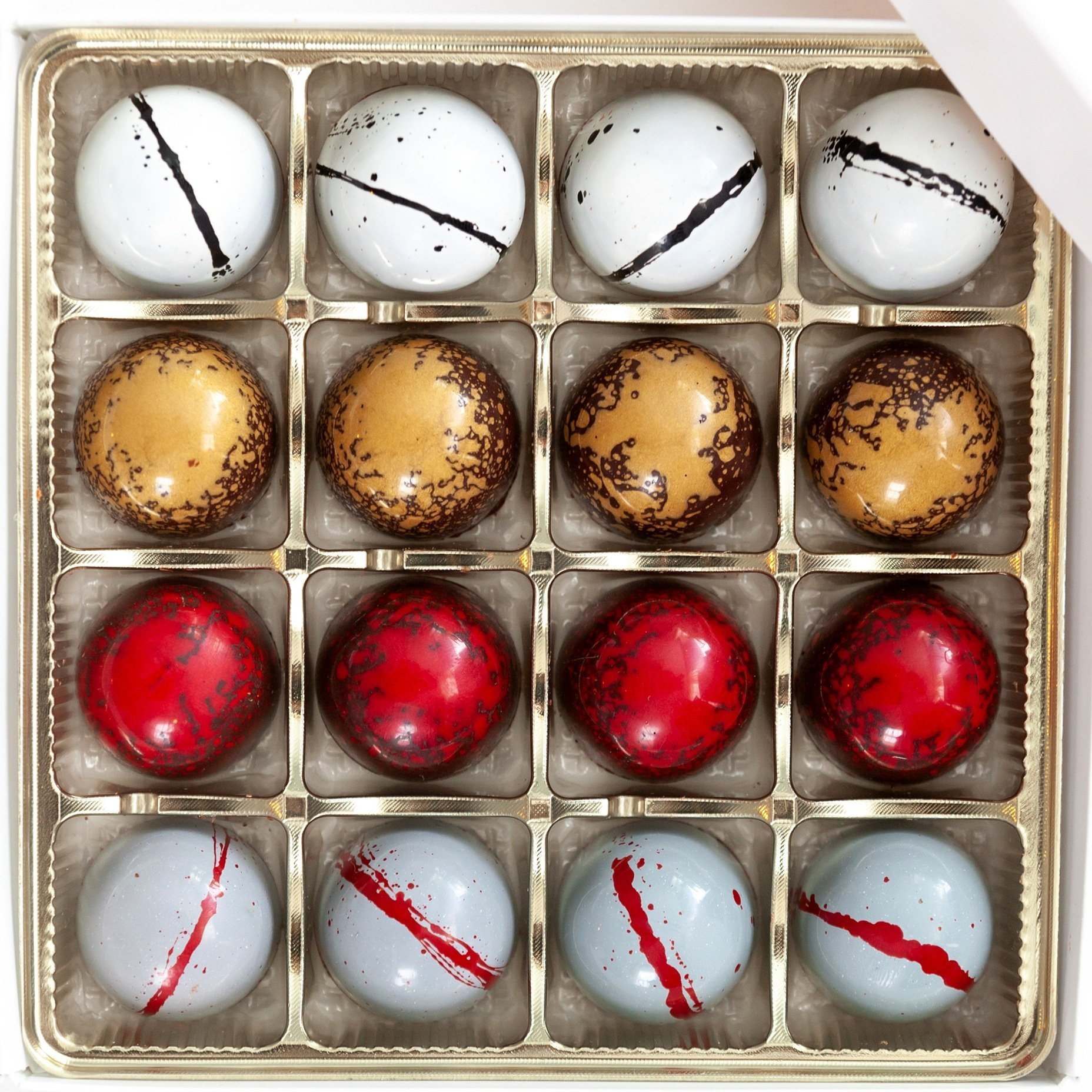 16 Piece Assorted Bonbon Box